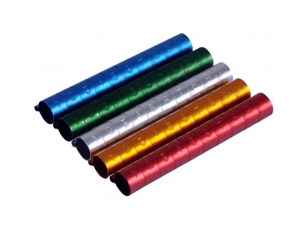 Kroužky rozlišovací 10 mm 10 ks