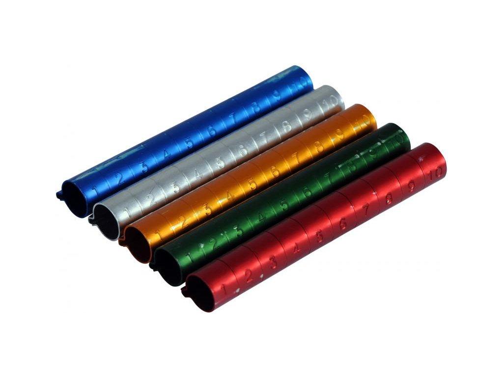 Kroužky rozlišovací 12 mm 10 ks