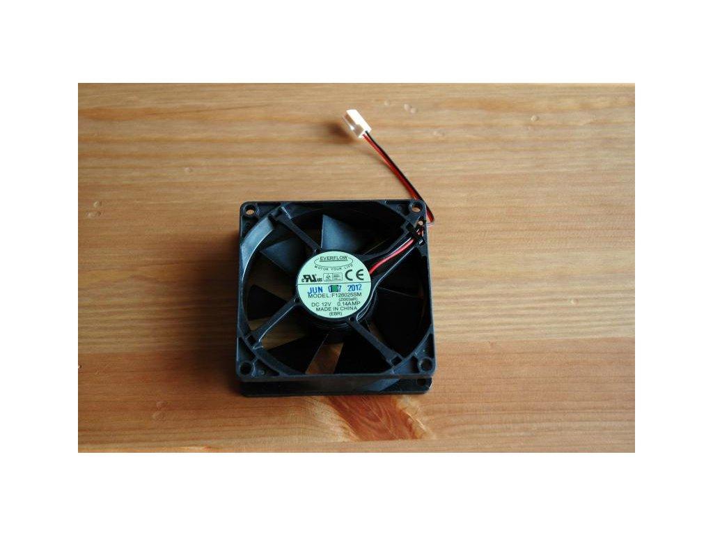 Ventilátor RCom 80x80x25 mm