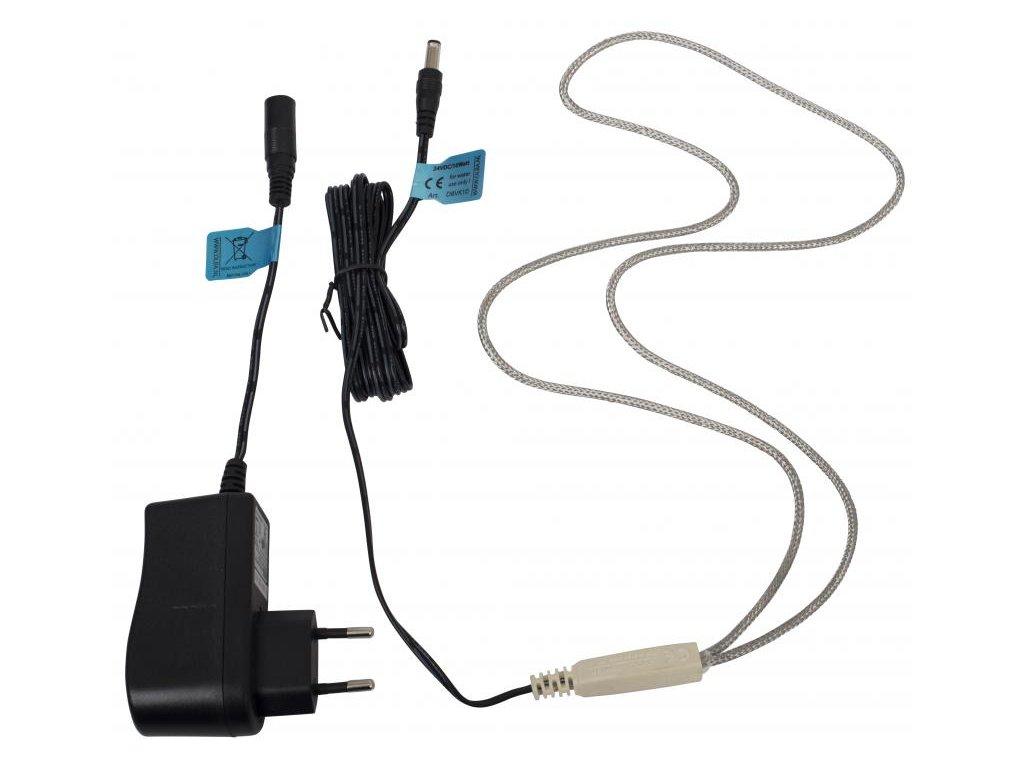 Vyhřívací kabel 10 W s adaptérem