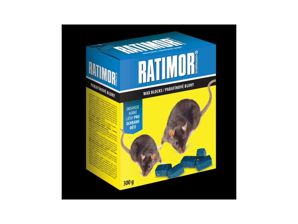 Ratimor parafínové bloky 300 g