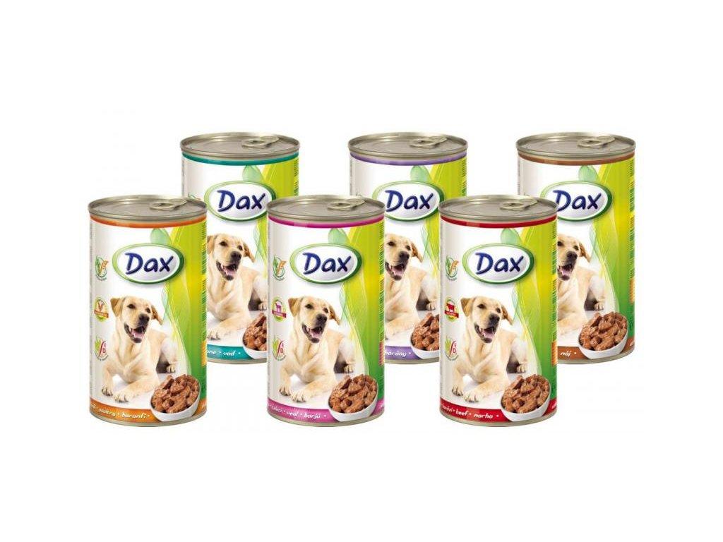 DAX kousky - drůbež 1240g