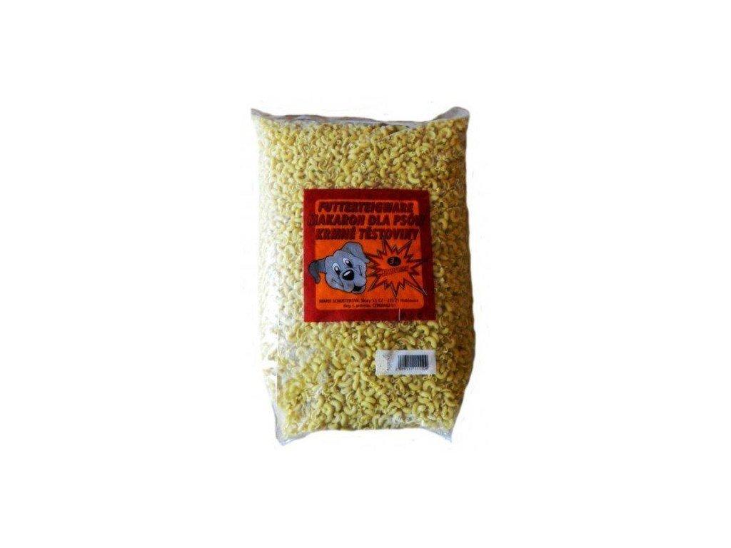 Žlutá šunková krmná kolínka pro psy 5 kg