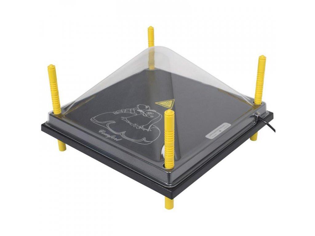 Kryt na vyhřívací desku 40x40 cm