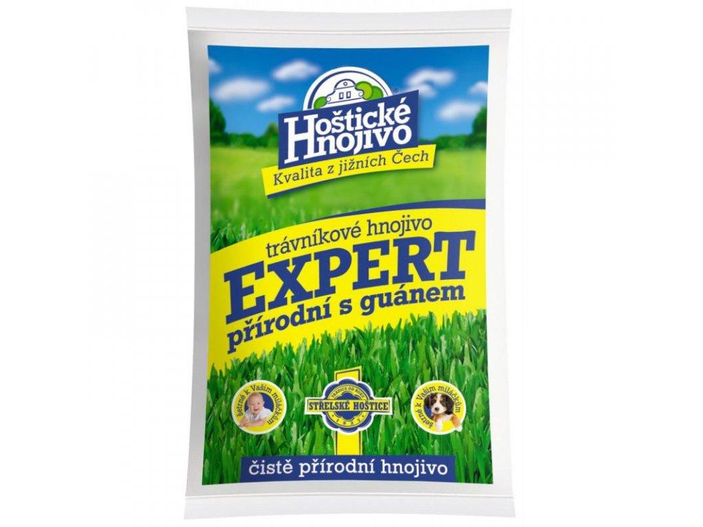 Hoštické hnojivo Expert přírodní s guanem