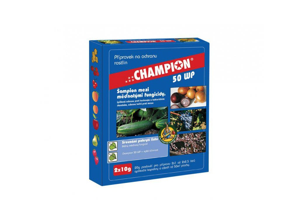 Fungicid Champion 50WG 2x10g
