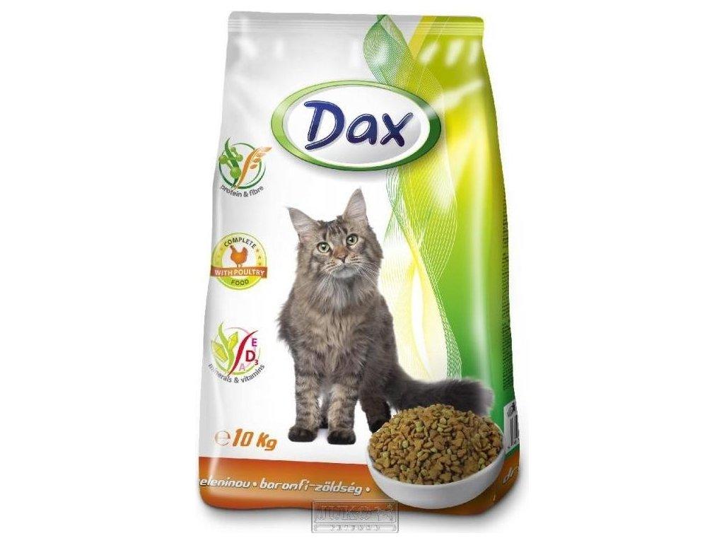 DAX CAT drůbež + zelenina 10 kg