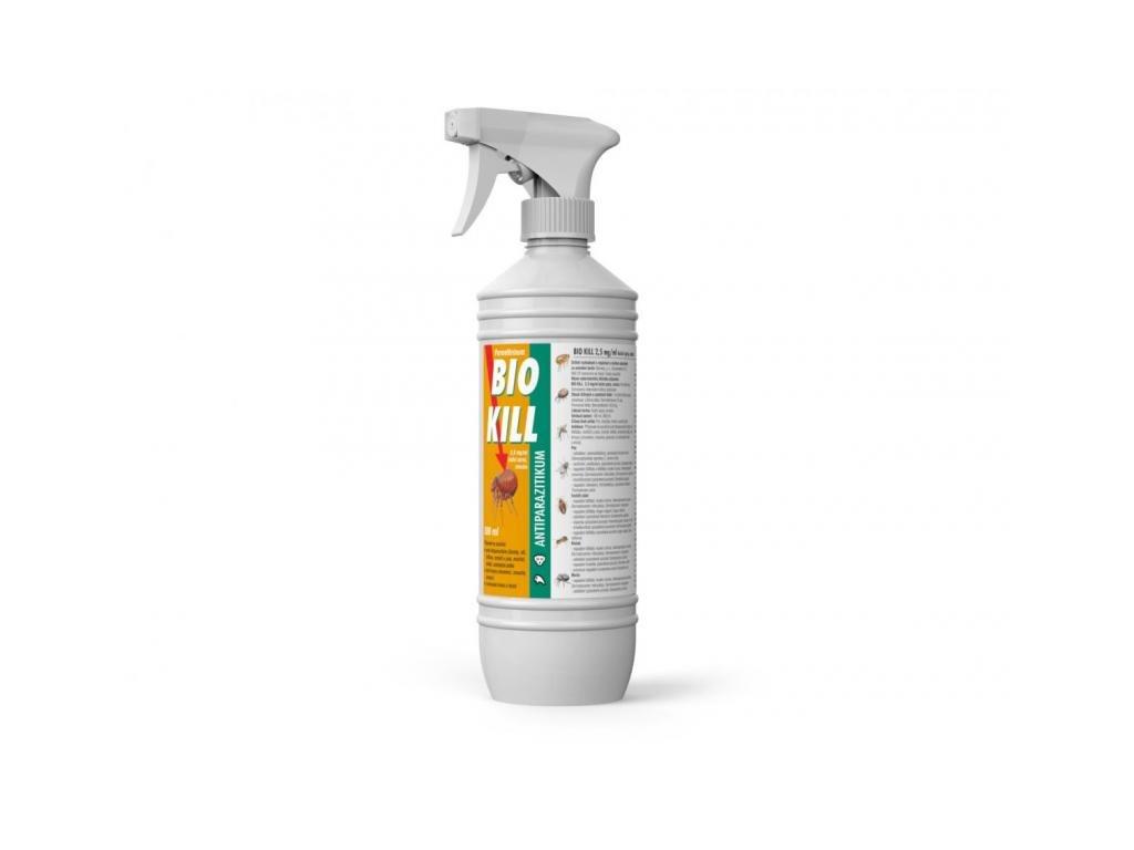Bio Kill 2,5 mg/ml kožní sprej, emulze 500 ml