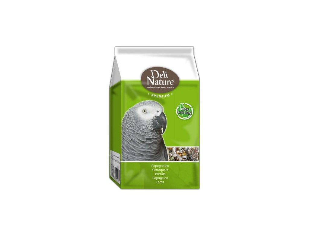 Deli Nature Premium Parrots with fruit 800 g
