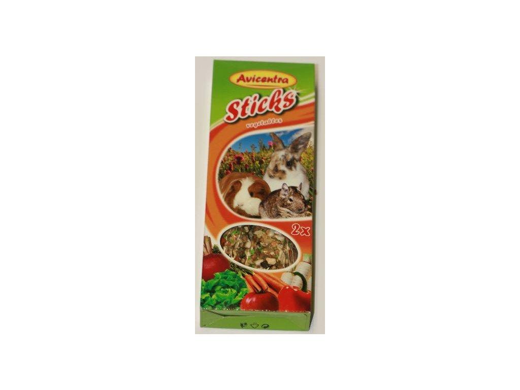 Avicentra tyčinky velký hlodavec - zelenina 2 ks