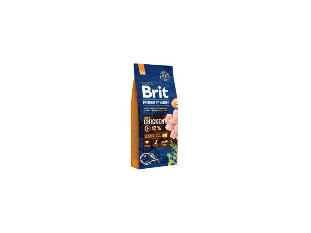 Brit Premium Dog by Nature Senior S+M