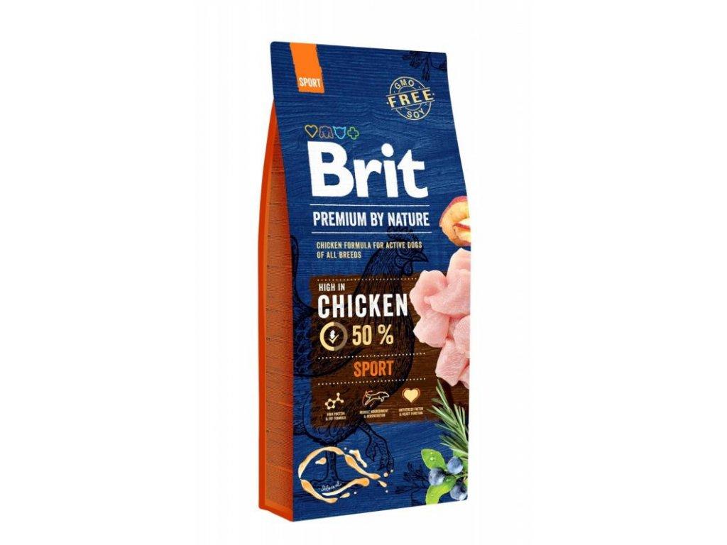 Brit Premium Dog by Nature Sport 15 kg