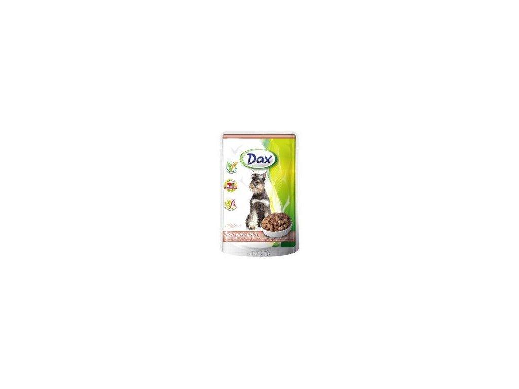Dax kapsa pro psy hovězí+králík 100 g