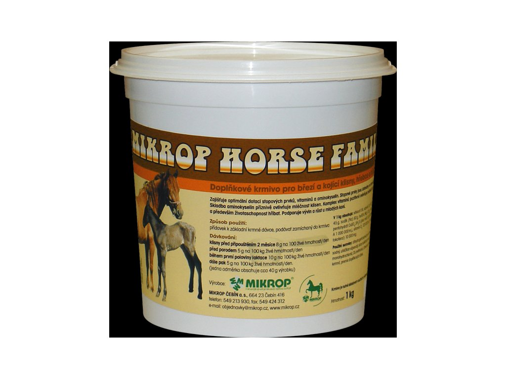 Mikrop Horse Family