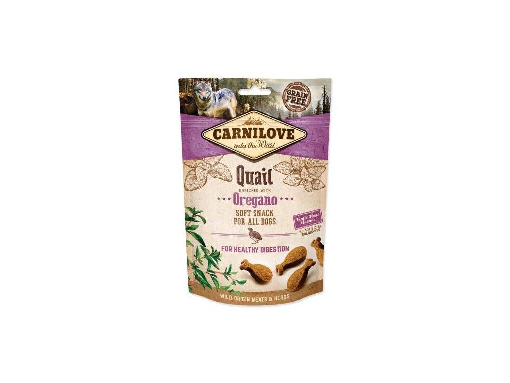 Dog Semi-Moist Snack Quail & Oregano 200 g