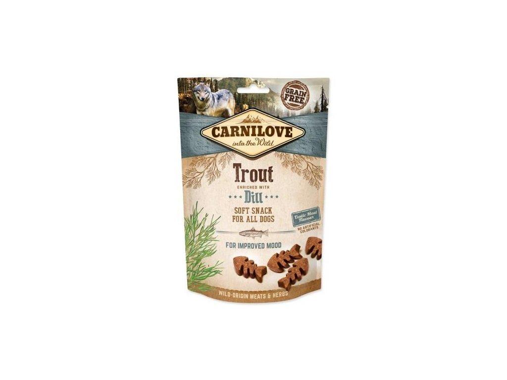 Dog Semi-Moist Snack Trout & Dill 200 g