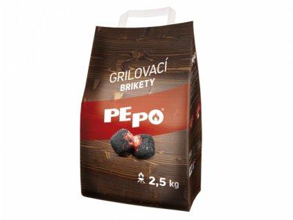 PE-PO brikety grilovací, 2,5kg