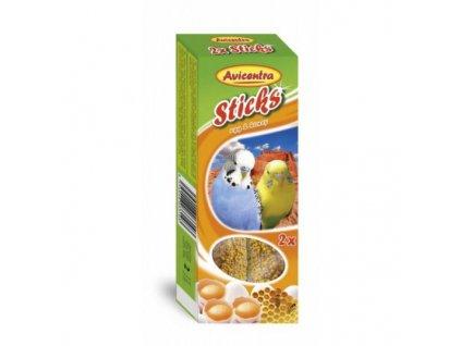 Avicentra tyčinky andulky - vejce+med 2 ks