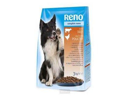 Reno DOG granule hovězí + drůbeží 10 kg
