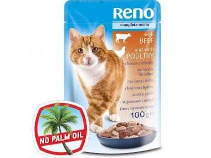 Reno CAT kapsa hovězí a drůbež 100 g