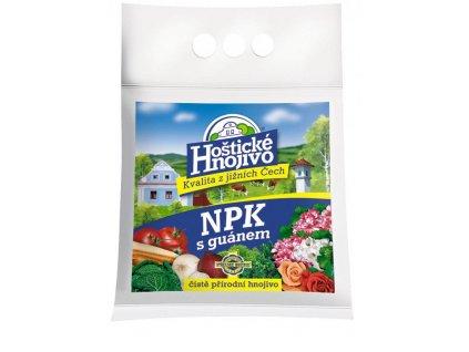 Hoštické hnojivo NPK s guánem