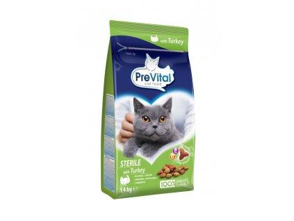 Prevital granule kočka sterile 1,6 kg