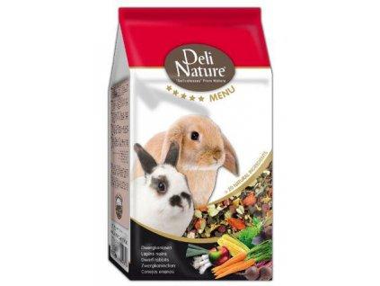 Deli Nature 5*menu Dwarf rabbits 750 g