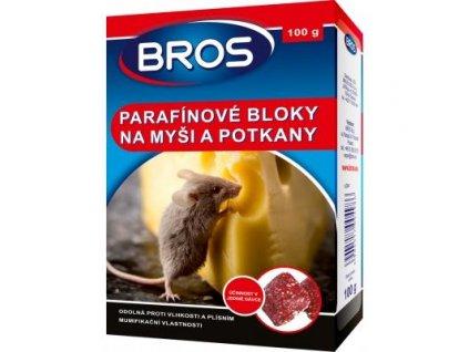 Bros parafínové bloky 100 g