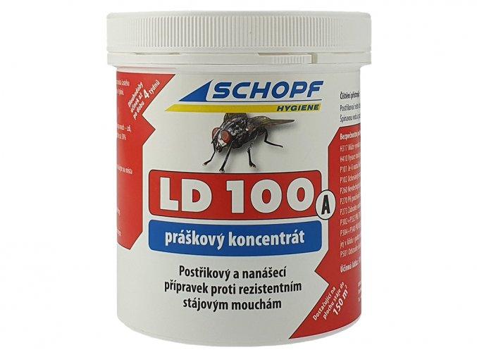 Postřikový a nanášecí koncentrát proti stájovým mouchám LD100A, 250g