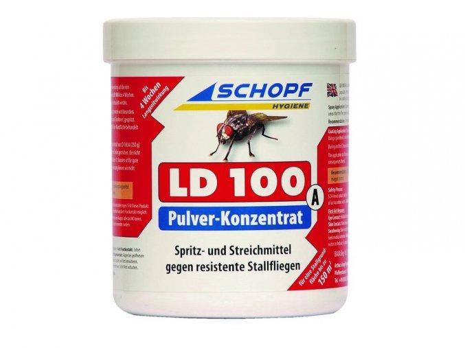 Postřikový a nanášecí koncentrát proti stájovým mouchám LD100A,1000g