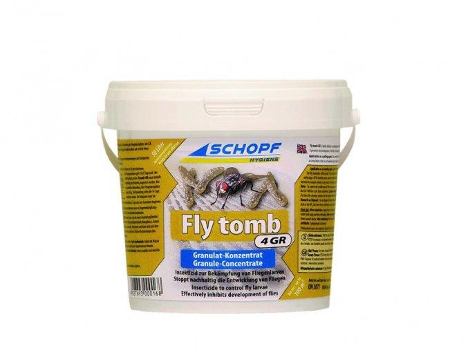 Insekticid k hubení muších larev s dlouhodobým účinkem Fly tomb 4GR, 3kg