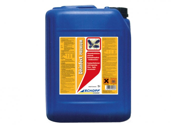 Vysoce koncentrovaný přípravek pro dezinfekci kurníků Disinfect premium, 5l