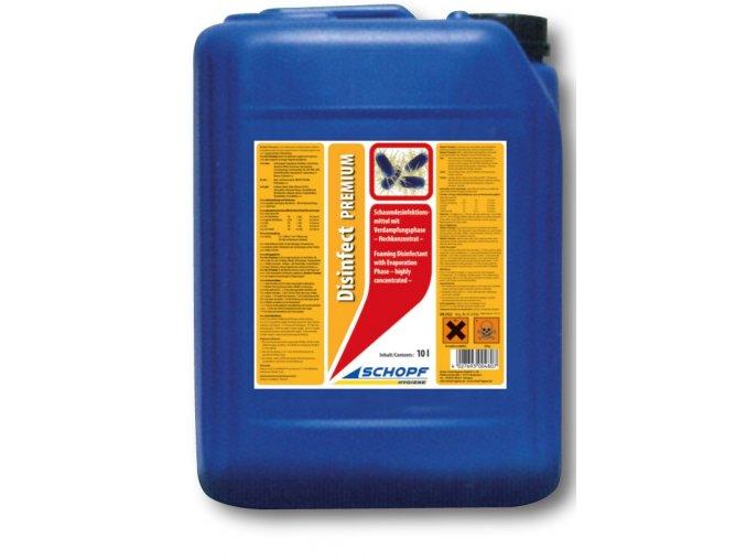 Vysoce koncentrovaný přípravek pro dezinfekci kurníků Disinfect premium, 10l
