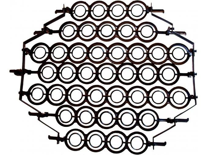 Otočný rošt CLEO na bažantí vejce