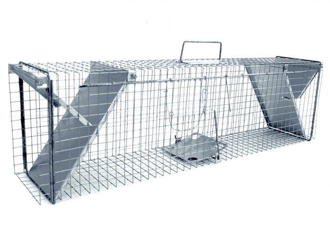 Sklopec na kuny, kočky, potkany, krysy, lasičky a tchoře - ZL112x21x31  + v balení DÁREK ZDARMA - odchytová sada za 149,-Kč
