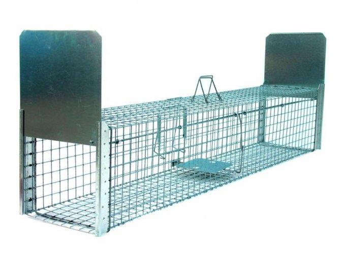 profesionalni past na lisky kuny psy vydry bobry zl130x34x34b2 kvalitni pruchozi sklopec s naslapnym systemem padacich bran 2