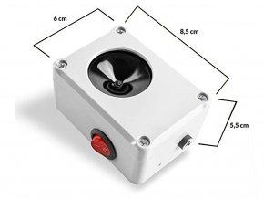 Vodotěsný, ultrazvukový plašič na kuny, myši a potkany DRAGON ULTRASONIC C100 p1