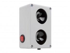 Vodotěsný, ultrazvukový plašič na kuny, myši a potkany DRAGON ULTRASONIC C200 p1