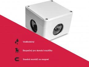 Prostorový, vodotěsný, ultrazvukový plašič na kuny, myši a potkany DRAGON ULTRASONIC C360 SMART p1