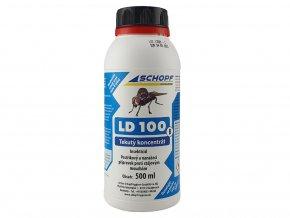 Postřikový a nanášecí koncentrát proti stájovým mouchám LD100B, 500ml