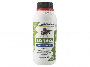 Postřikový a nanášecí koncentrát proti stájovým mouchám LD100G, 500ml