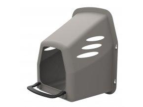 Snáškové hnízdo pro slepice HF plastové, šedé úvod
