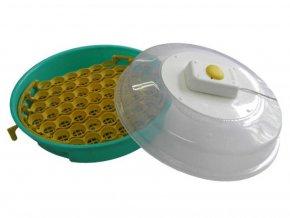 Líheň na vejce PUISOR IO-103 - s dolíhní drůbeže  - kapacita 51 vajec, poloautomatické otáčení