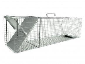 Past pro kuny, norky, tchoře, kočky a  lišky ZL112x31x36 - osvědčený robustní sklopec s jedním vchodem a záklopkou se zámkem