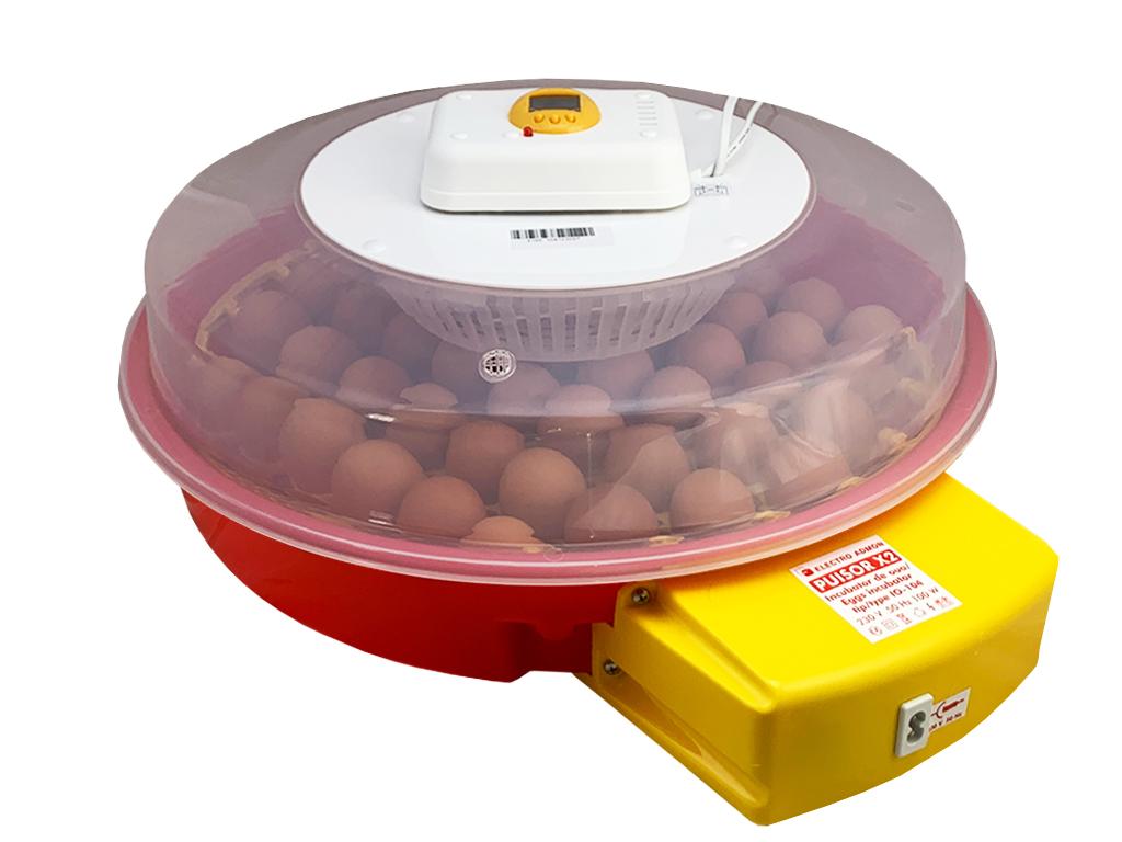 PUISOR X2 IO-104 - automatické otáčení vajec, s teploměrem a s vlhkoměrem