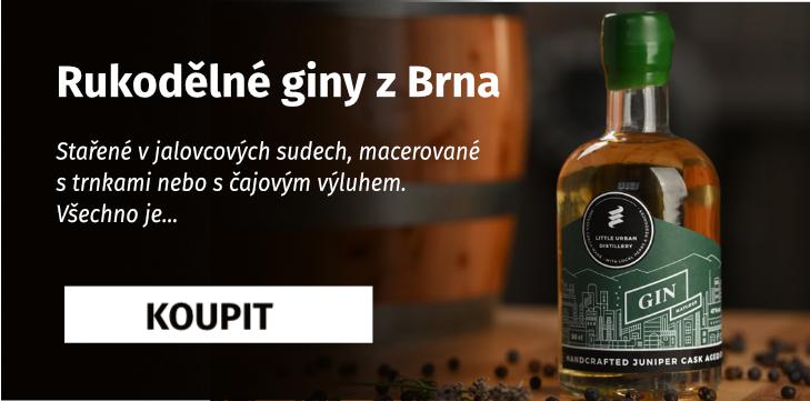 Rukodělné giny z Brna