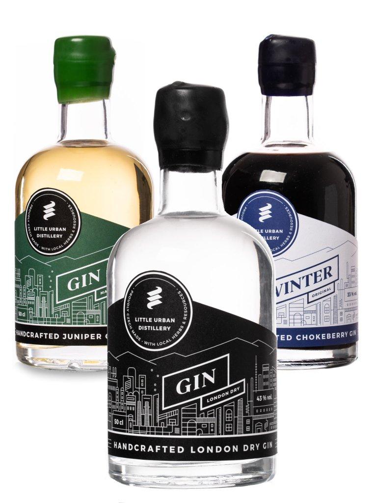 Balíček 3x Little Urban Distillery