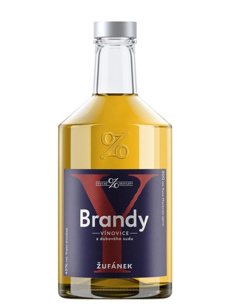 Žufánek Brandy 45% 0,5l