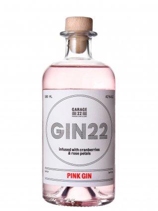 Garage Pink Gin 42% 0,5l