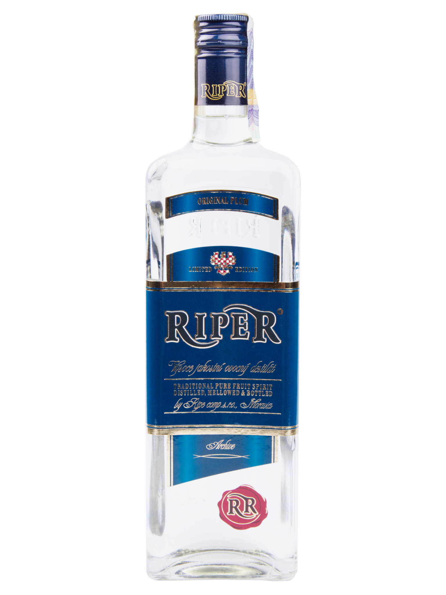 Levně Riper - Palírna Syrovice Riper Slivovice 46% 0,5l